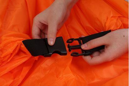 Obrázek Nafukovací vak Lazy bag jednovrstvý - oranžový