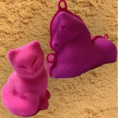 Obrázek 3D formičky velké - zvířátka - kočka, poník