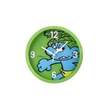 Obrázek Hodiny Šmoula - zelené