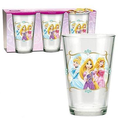Obrázek Sada 3 ks skleniček Princezny