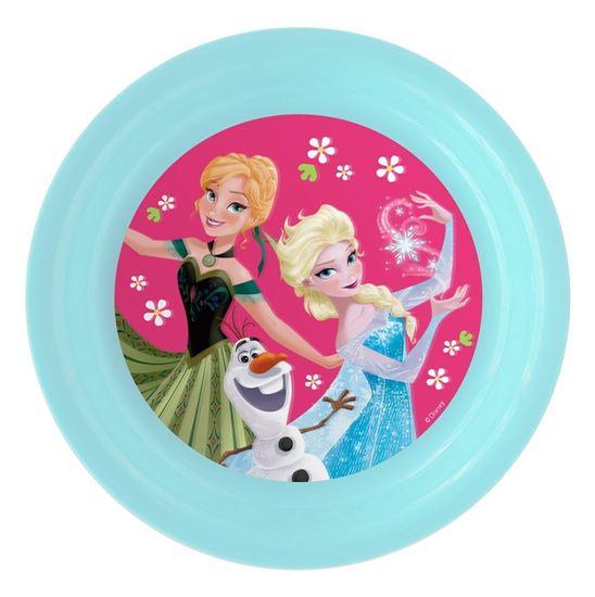 Obrázek z 3D plastový talíř Ledové království