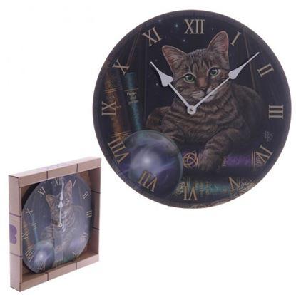 Obrázek Nástěnné hodiny - kočka