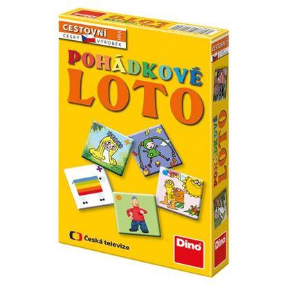 Obrázek Cestovní hra Pohádkové loto