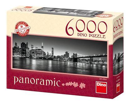 Obrázek Puzzle 6000 - Noční Brooklyn