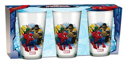 Obrázek Sada 3 ks skleniček Spiderman