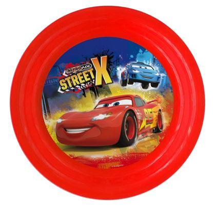 Obrázek 3D plastový talíř Cars