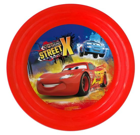 Obrázek z 3D plastový talíř Cars