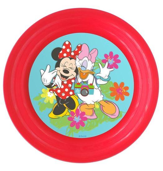 Obrázek z 3D plastový talíř Minnie