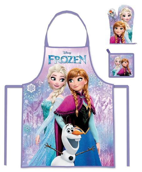 Obrázek z 3dílný kuchařský set Ledové království