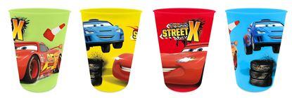 Obrázek Sada 4 ks plastové skleničky Cars