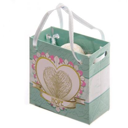 Obrázek Srdíčko s motivačním textem v dárkové tašce