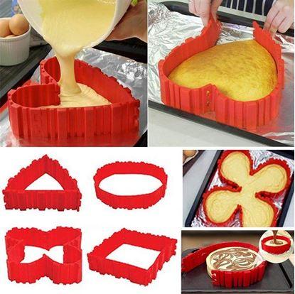 Obrázek Tvarovací silikonová forma na dorty