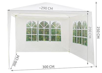 Obrázek Zahradní stan 3x3 m