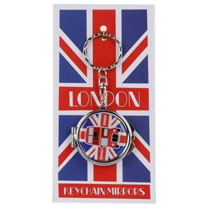 Obrázek Klíčenka se zrcátkem - Londýn