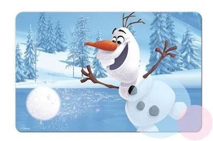 Obrázek 3D podložka Olaf