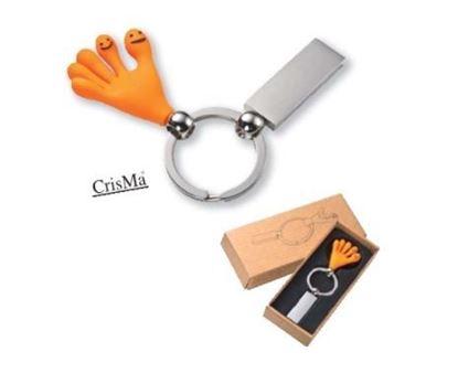 Obrázek Klíčenka - gumová ruka