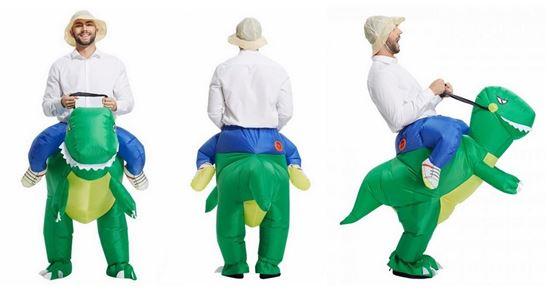 Obrázek z Nafukovací kostým dinosaura