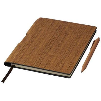 Obrázek Zápisník v dřevěném designu