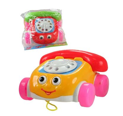 Obrázek Autíčko na kolečkách - telefon