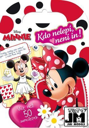Obrázek Mini knížka se samolepkami - Disney Minnie