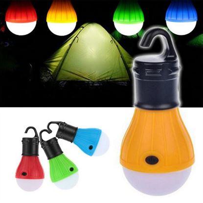 Obrázek LED žárovka - modrá