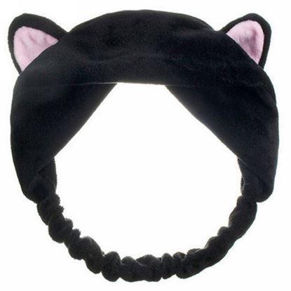 Obrázek Kosmetická čelenka - černá