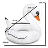 Obrázek z Nafukovací kruh Bílá labuť