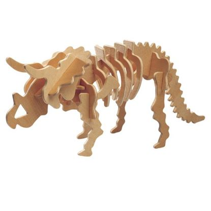 Obrázek 3D puzzle - Triceratops