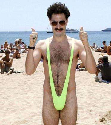 Obrázek z Borat plavky mankini