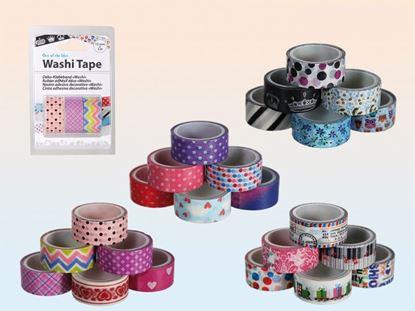 Obrázek Dekorační pásky Washi