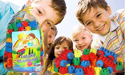 Obrázek Dětská stavebnice 300 ks