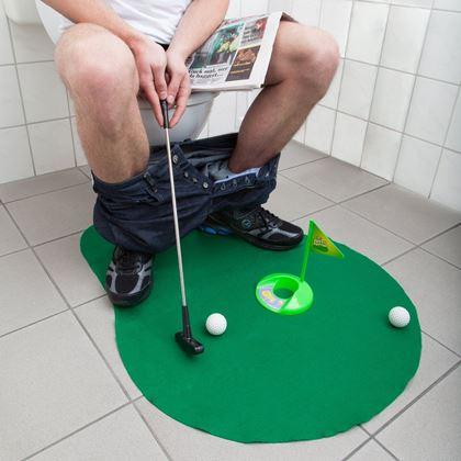 Obrázek z Golf na WC