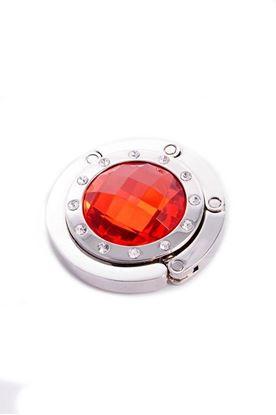 Obrázek Háček na kabelku - červený