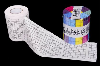 Obrázek z Toaletní papír – Sudoku