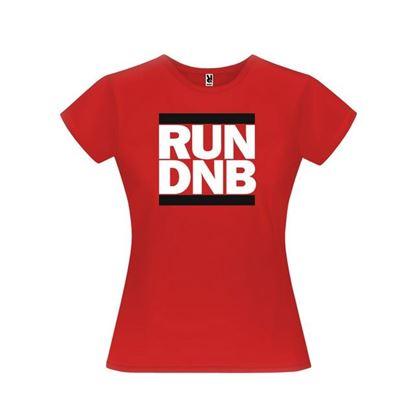 Obrázek Dámské tričko - RUN DNB - červené - M