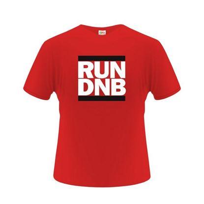 Obrázek Pánské tričko - RUN DNB - červené - XXL