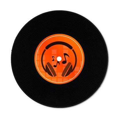Obrázek Retro vinylové podtácky
