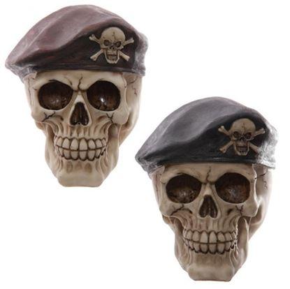 Obrázek Lebka s baretem
