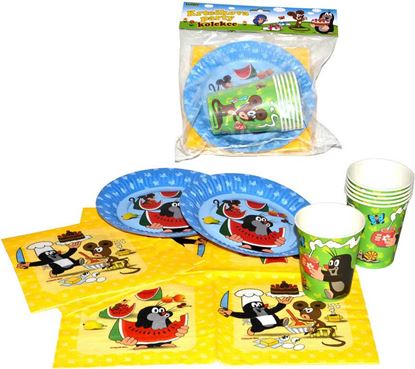 Obrázek Dětský piknikový party set