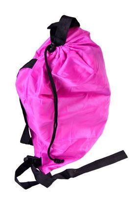Obrázek Nafukovací vak Lazy bag jednovrstvý - růžový