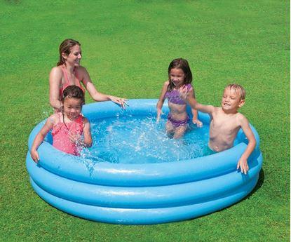 Obrázek Dětský nafukovací bazén - 3 komorový