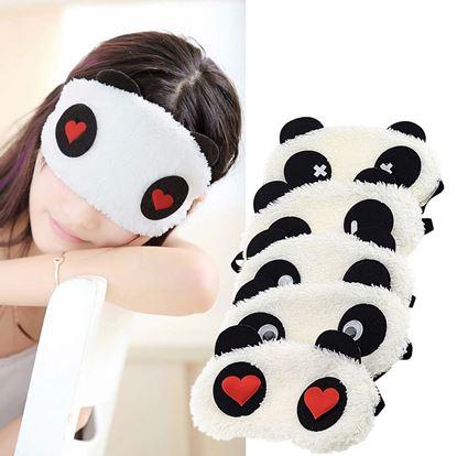 Obrázek Maska na spaní Panda