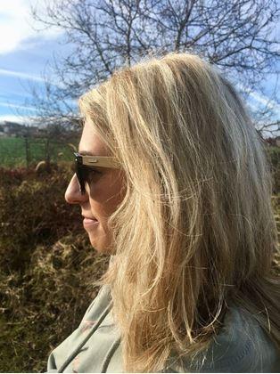 Obrázek z Dřevěné sluneční brýle - černé