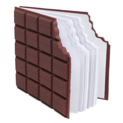 Obrázek z Poznámkový blok ukousnutá čokoláda