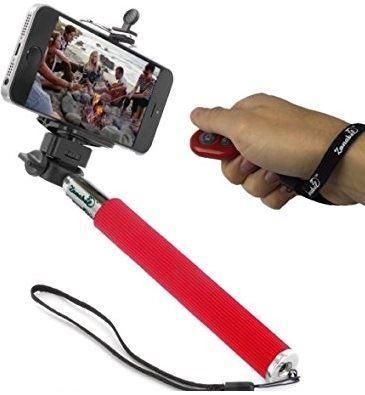 Obrázek z Selfie tyč s dálkovým ovládáním a bluetooth