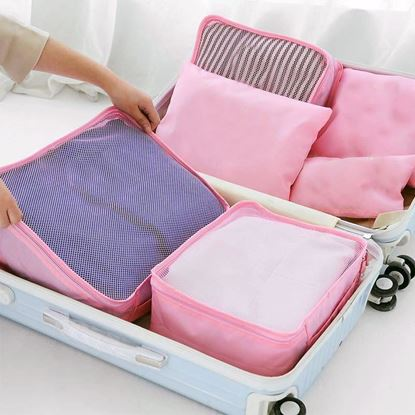 Obrázek Sada cestovních organizérů do kufru