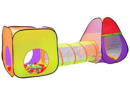 Obrázek Dětský propojený stan