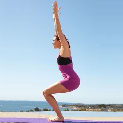 Obrázek Podložka na jógu - fialová
