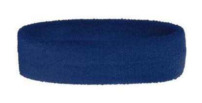 Obrázek Froté čelenka - modrá