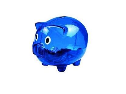 Obrázek Pokladnička - Modré prasátko